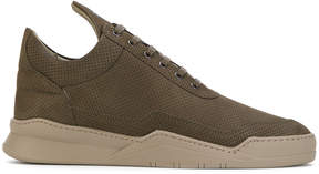 Filling Pieces perforated sneakers
