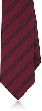 Isaia Men's Pinstriped Silk Necktie