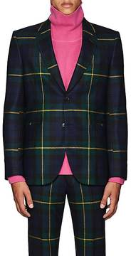 Paul Smith Men's Plaid Wool Flannel Two-Button Sportcoat