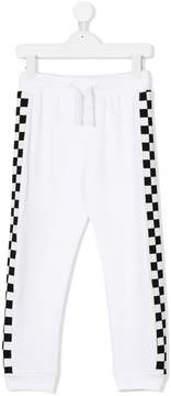 Stella McCartney checked stripe trousers