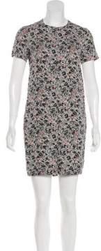 Cacharel Abstract Print Sheath Dress