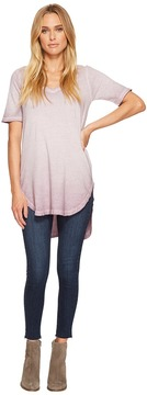 Alternative Cotton Jersey Element Wash Tunic Women's Clothing