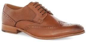 Topman Tan Leather Brogues