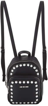 Love Moschino Studded Leather Backpack
