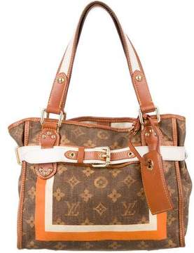 Louis Vuitton Monogram Tisse Rayures PM