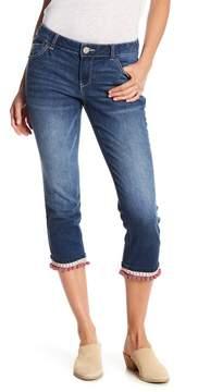 Democracy Ellen Pompom Capri Jeans