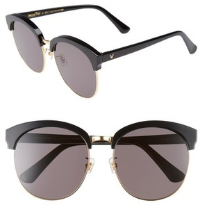 Gentle Monster Women's Deborah 60Mm Retro Sunglasses - Black