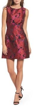 Betsey Johnson Women's Jacquard Fit & Flare Dress
