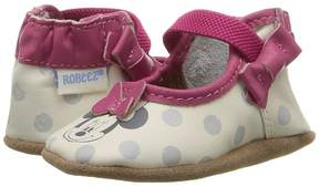 Robeez Disney Baby by Hey Minnie Mary Jane Soft Sole Girls Shoes