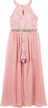 Speechless Girls 7-16 Lace Maxi Overlay Dress