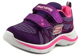 Skechers Swift Kicks-lil Glammer Toddler Round Toe Synthetic Sneakers.