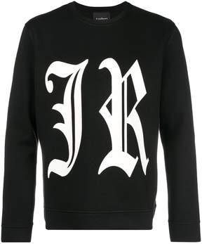 John Richmond logo print sweatshirt