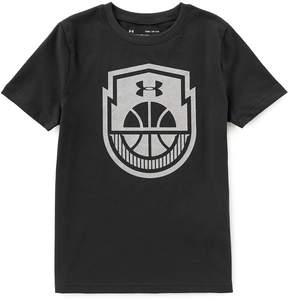 Under Armour Big Boys 8-20 Basketball Icon Short-Sleeve Tee
