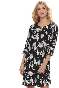 Apt. 9 Women's Grommet Keyhole Shift Dress