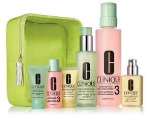 Clinique 3-Step Skin Care Set for Oily Skin - $96.00 Value