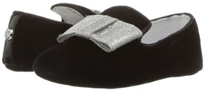 Stuart Weitzman Baby Loafer Bow Girl's Shoes
