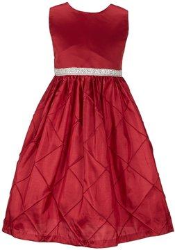 Jayne Copeland Little Girls 2T-6X Pintucked Beaded Dress