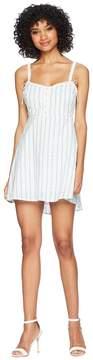 For Love & Lemons Picnic Eyelet Mini Dress Women's Dress
