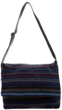Missoni Patterned Wool Messenger Bag