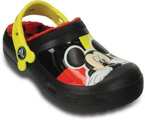 Crocs Disney Mickey Mouse Lined Boys' Clogs