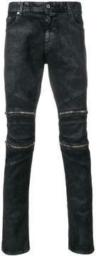 Just Cavalli wet look jeans