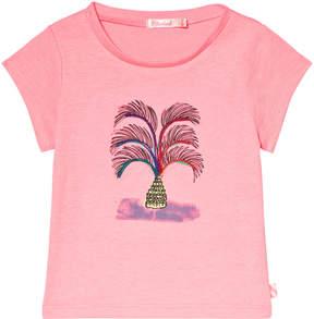 Billieblush Hot Pink Palm Tree T-Shirt