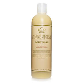 Nubian Heritage Indian Hemp + Hatian Vetiver Body Wash by 13oz Wash)