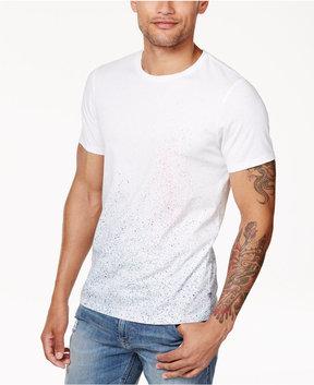 GUESS Men's Spray Paint Splatter T-Shirt