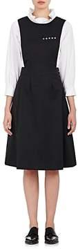 Comme des Garcons Women's Star-Embellished Wool Gabardine Apron Dress