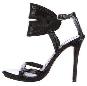 Camilla Skovgaard Patent Leather Cutout Sandals