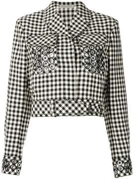 Bottega Veneta paille nero cotton jacket