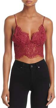 Cotton Candy Lace Bralette Top