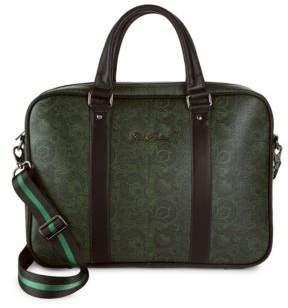 Robert Graham Crown Point Leather Crossbody Bag