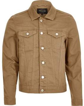 River Island Mens Light brown denim jacket
