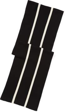 Ralph Lauren Cricket-Stripe Wool Scarf