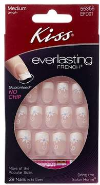 Kiss Everlasting French Nails Kit, Medium Length Wedding Veil