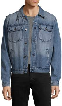 BLK DNM Men's 15 Faded Denim Jacket