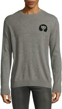 Hyden Yoo Men's Cashmere Intarsia Sweater