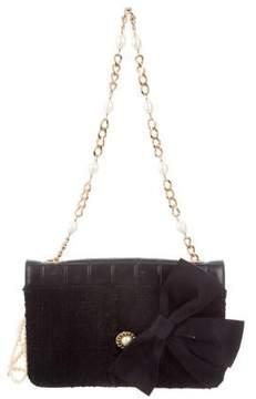Chanel Bijoux Tweed Flap Bag