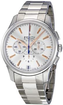 Zenith Captain Chronograph Silver Dial Automatic Men's Watch 03211040001M2110
