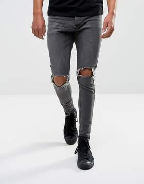 Brave Soul Ripped Denim Jeans