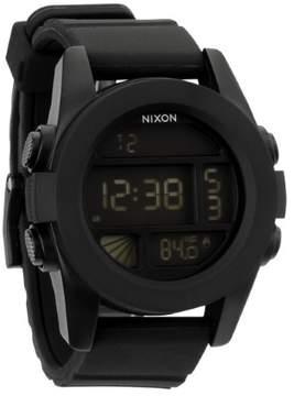 Nixon Men's A197-000 Unit Silicone Watch, 49mm