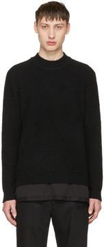 Craig Green Black Bouclé Sweater