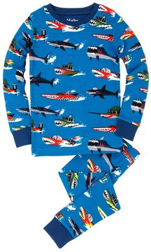Hatley Boy's Monster Boats PJ Set