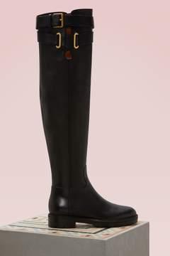 Valentino Knee-High Boots
