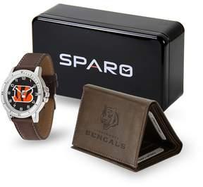 DAY Birger et Mikkelsen Kohl's Men's Sparo Cincinnati Bengals Watch and Wallet Set