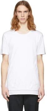 Miharayasuhiro White Damaged T-Shirt