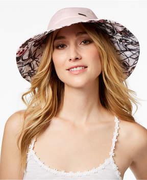 Steve Madden Floral Reversible Bucket Hat