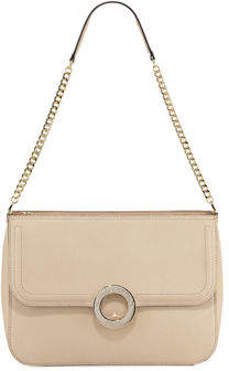 Karl Lagerfeld Paris Clarise Saffiano Leather Shoulder Bag