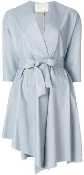 Drome belted wrap dress